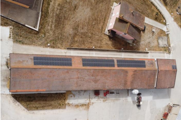 pannelli fotovoltaici su stalla nelmiocampo